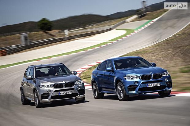 Вышли в свет BMW X5M и X6M
