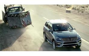 Видео: Mercedes-Benz M-Class заглянул в мир «Безумного Макса»