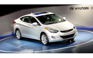 Hyundai Elantra ворвался в рейтинг самых популярных автомобилей мира