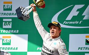 Формула-1: Гран-при Бразилии выиграл Нико Росберг