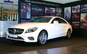 Mercedes-Benz CLS презентовали на неделе моды