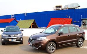 Тест-драйв Renault Koleos и Toyota RAV4