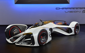 Chevrolet создал болид будущего