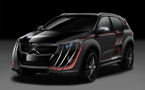 Злобный Kia X-Car создан по мотивам блокбастера «Люди Икс»