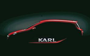 Opel Karl: первые фото уже завтра