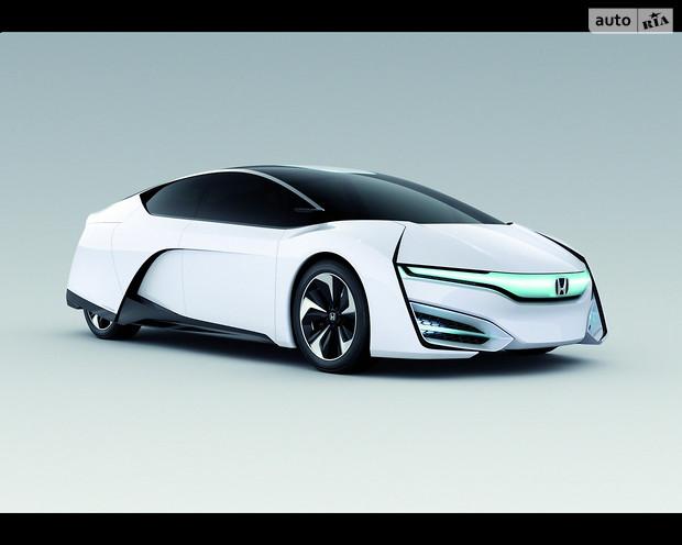 Концепт Honda FCV дебютирует 12 января