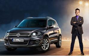 Видео: Робби Уильямс позаботится о продажах Volkswagen