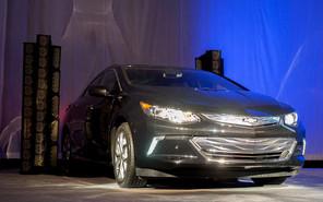 Премьера нового Chevrolet Volt продлилась 30 секунд