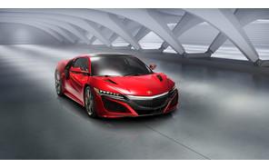 Серийный суперкар Acura NSX оформил дебют