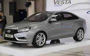Производство Lada Vesta начнется в этом месяце