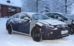 Новая Hyundai Elantra уже на дорогах