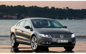 Новый Volkswagen Passat CC везут в Женеву