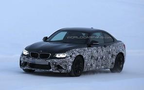 Первые фото: BMW M2 вышел на Полярный круг