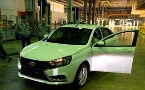 Производство Lada Vesta стартовало