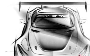 Mercedes опубликовал скетч будущего гоночного автомобиля AMG GT3