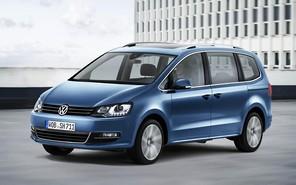 Минивен Volkswagen Sharan пережил подтяжку лица