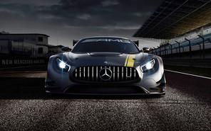 Женева-2015: первое фото Mercedes-Benz AMG GT3