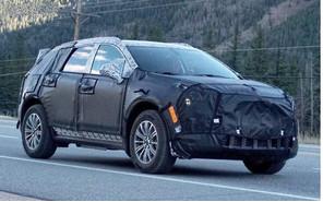 Предстоящий Cadillac XT5: шпионские фото