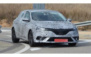 Попался! Шпионские фото нового Renault Megane