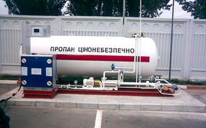 На автозаправках дорожает газ
