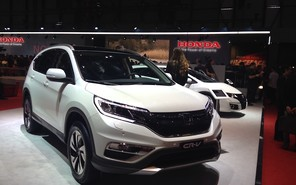 Женевский автосалон 2015 увидел обновленный Honda CR-V