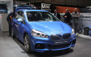 BMW 2-Series Gran Tourer дебютировал
