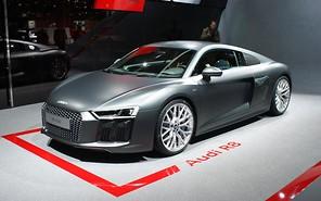 Впервые на арене! Audi R8 нового поколения