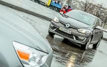 Зимовка с Renault Megane Будни фотографа