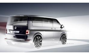 Минивен Volkswagen T6 дебютирует уже через месяц