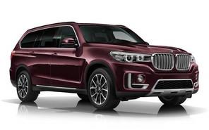 Роскошный внедорожник BMW X7 покажут в 2017 году