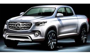 До 2020 года Mercedes представит первый серийный пикап