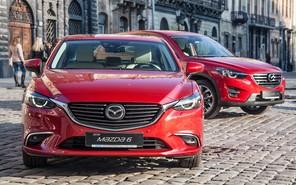 Обновленные Mazda 6 и Mazda CX-5 дебютировали в Украине