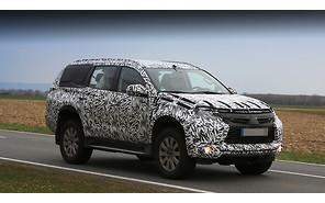 Новый Mitsubishi Pajero Sport: первые снимки