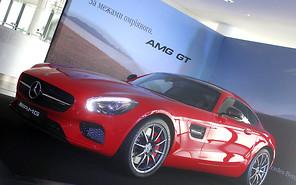 Mercedes AMG GT вышел на украинский подиум