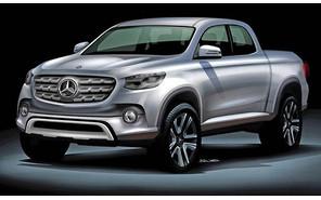 Первый пикап Mercedes будет сделан «Ниссаном»