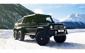 Mercedes-Benz: 6-колесного «Гелика» не будет