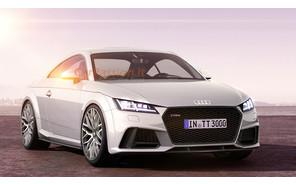 Новый Audi TT RS прибавит в мощности