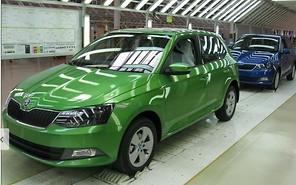 На заводе «Еврокар» стартовало производство новой Skoda Fabia