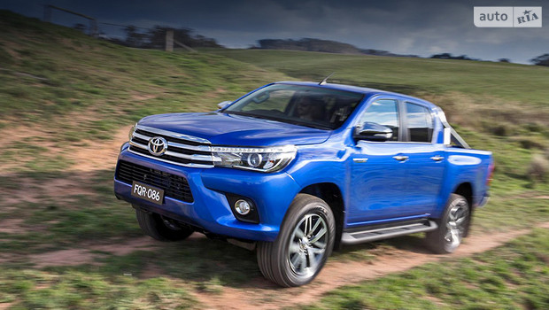 Восьмое поколение пикапа Toyota Hilux дебютировало в Бангкоке