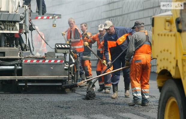 В сеть вывели информацию о ремонте столичных дорог
