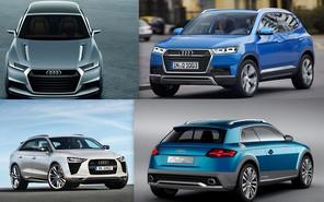 В Audi анонсировали «трио» новых кроссоверов
