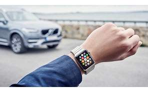 Машины Volvo подружились с Apple Watch