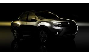 Первые фото: Renault Duster в образе пикапа
