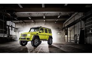 В Mercedes-Benz дали зеленый свет концепту G500 4x4