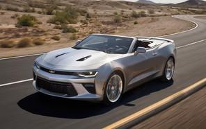 Кабриолет Chevrolet Camaro оформил дебют