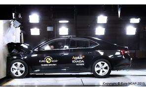Skoda Superb: получила высший балл на Euro NCAP