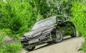 Тест-драйв Acura TLX
