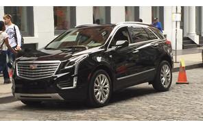 На улицах Нью-Йорка засветился Cadillac XT5