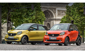 Smart обновил ForTwo и ForFour