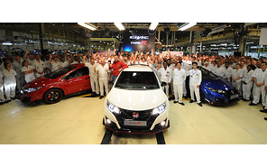 В Британии стартовало производство Honda Civic Type R